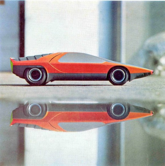Bertone Carabo Concept (1968) - Car Body Design